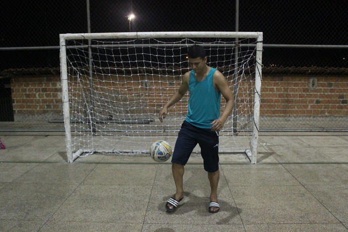 Kelson Miranda, jogador de futsal piauiense (Foto: Wenner Tito)