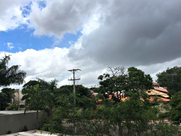 Em Campo Grande, os termômetros podem marcar de 20º a 30ºC. (Foto: Paulo Fernandes / G1 MS)