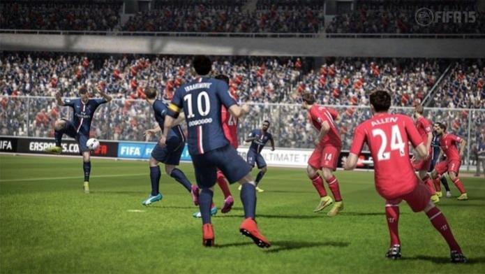 Ibra e PSG Fifa 15 (Foto: Fifa 15 no Xbox 360 e PS3 (Foto: Divulgação))