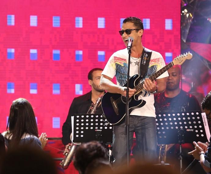 Mc Leozinho (Foto: Carol Caminha/Gshow)
