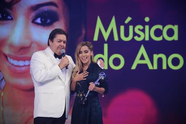 Anitta no Melhores do Ano (Foto: TV Globo / Alex Carvalho)