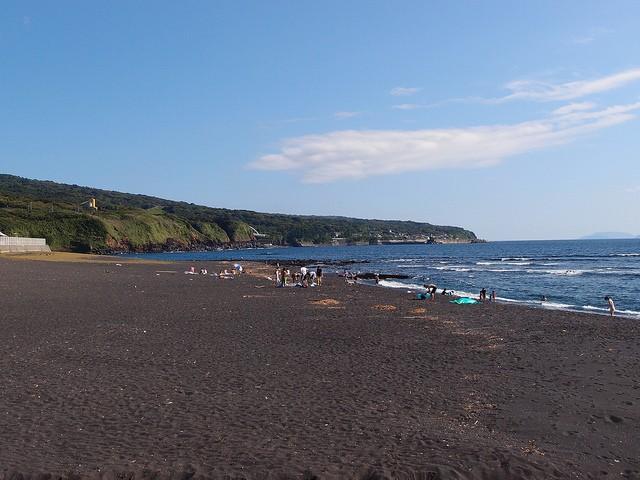 Oshima, principal ilha do arquipélago Izu, no Japão (Foto: Guilhem Vellut/Flickr)