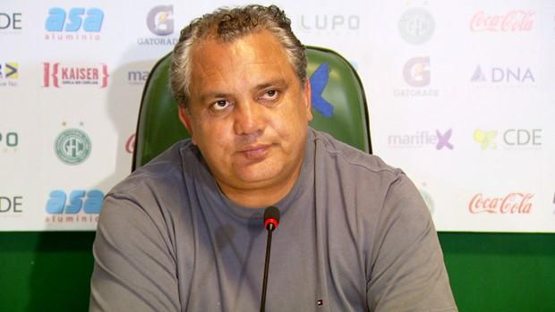 Branco técnico Guarani (Foto: Carlos Velardi/ EPTV)