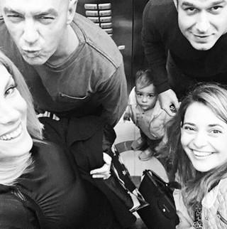 Ana Hickmann com o marido, Alexandre, e o filho, também Alexandre, e os cunhados, Gustavo Correa e Giovana Oliveira (Foto: Reprodução/Instagram)