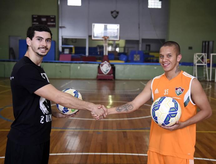 Marcos Júnior Fluminense Freestyle (Foto: André Durão / GloboEsporte.com)