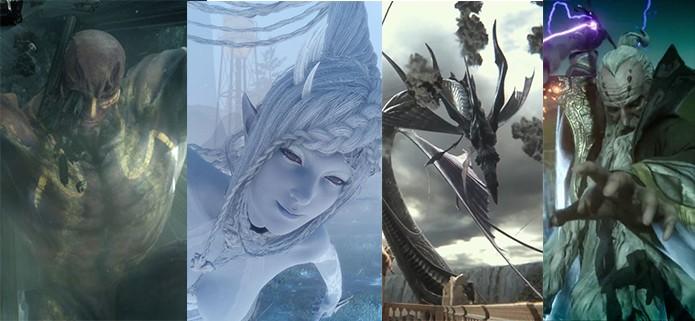 Final Fantasy XV: saiba como usar todas as Invocações no game (Foto: Reprodução/Murilo Molina)