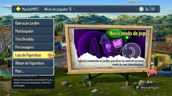 Plants vs Zombies Garden Warfare: como comprar e abrir pacotes de figurinhas no game (Foto: Reprodução/Murilo Molina)
