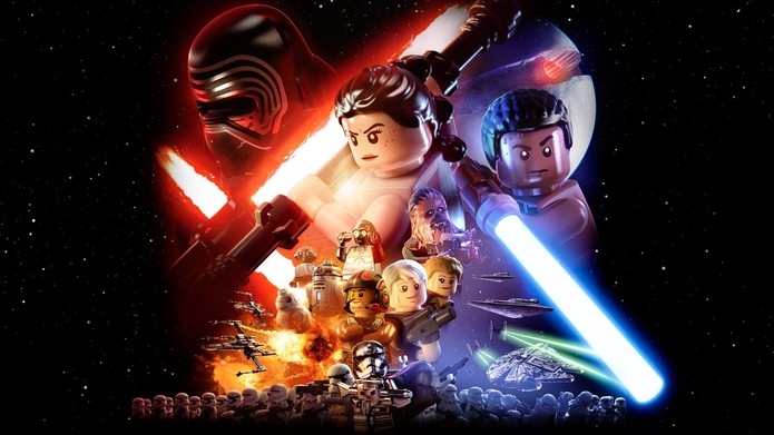 LEGO Star Wars: The Force Awakens é o novo game da série (Foto: Divulgação/Warner)