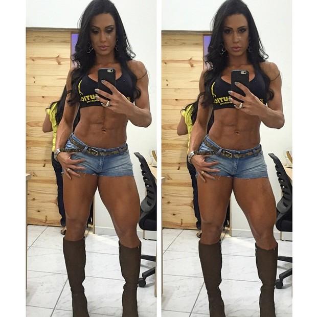 Gracyanne Barbosa (Foto: Instagram / Reprodução)