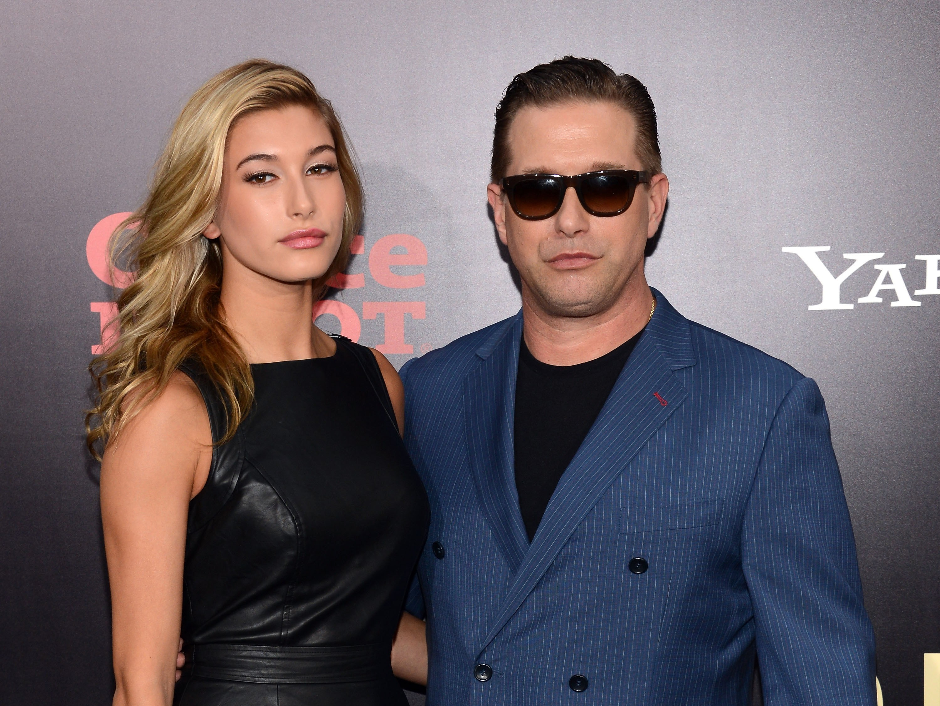 Hailey Baldwin e Stephen Baldwin (Foto: Getty Images)
