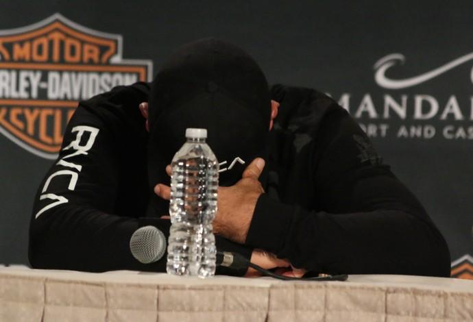 BJ Penn choro UFC MMA (Foto: Evelyn Rodrigues)