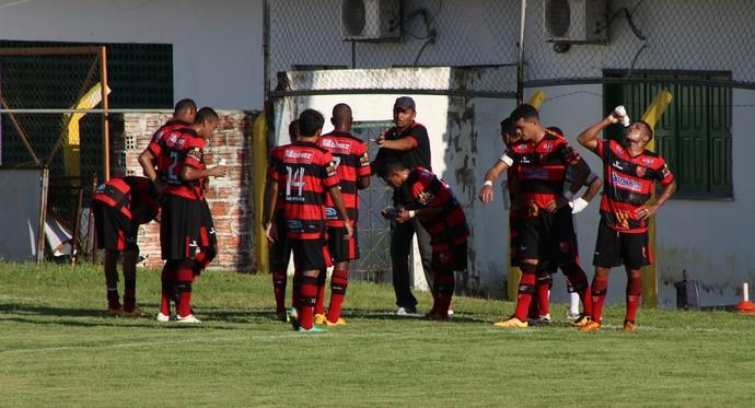 Caiçara x Flamengo-PI (Foto: Wenner Tito )