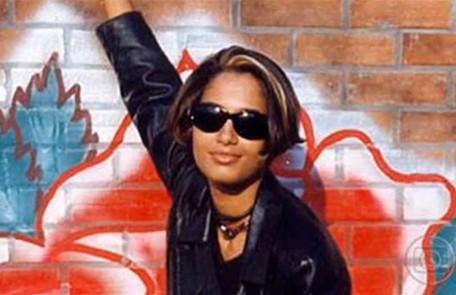 Camila Pitanga foi Alex em 1996 Reprodução da internet