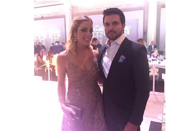 Fabiana Justus e Bruno D'Ancona (Foto: Reprodução)