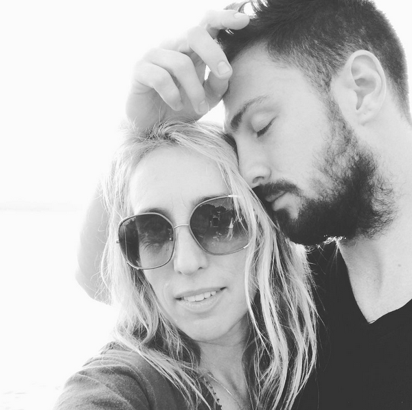 O ator Aaron Taylor-Johnson e a esposa, Sam Taylor-Johnson (Foto: Instagram)