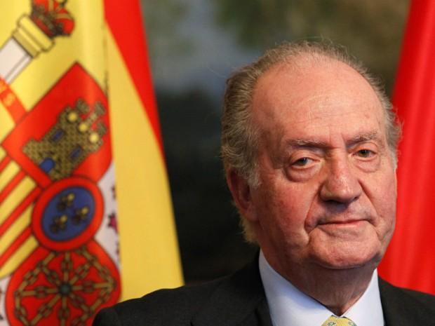 Foto do rei Juan Carlos durante encontro em Berlim, em 7 de abril de 2011 (Foto: Tobias Schwarz/Reuters)