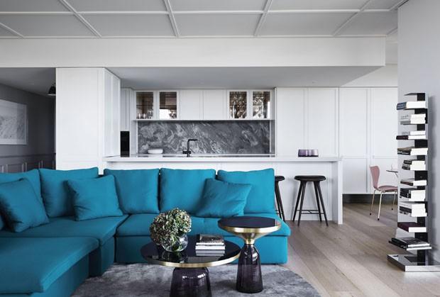 Apartamento se inspira na Hollywood vintage (Foto: Sharyn Cairns/ divulgação)