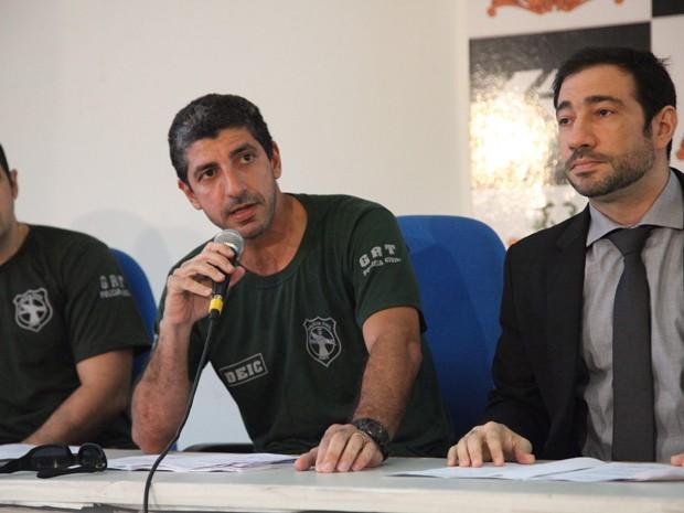 Coletiva sobre fraude de carteiras de habilitação no Maranhão (Foto: Flora Dolores/O Estado)
