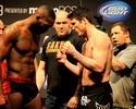 Provocado por Sonnen na pesagem do UFC 159, Jon Jones não responde