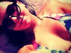 Giovanna Lancellotti posta foto de biquíni