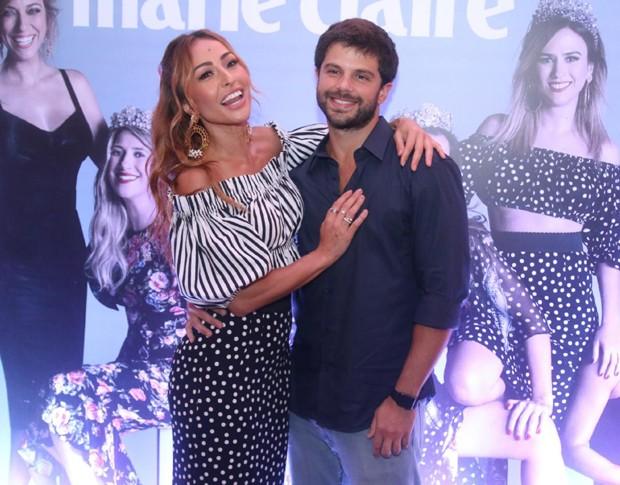 Sabrina Sato e Duda Nagle (Foto: Wallace Barbosa e Daniel Pinheiro/AgNews)