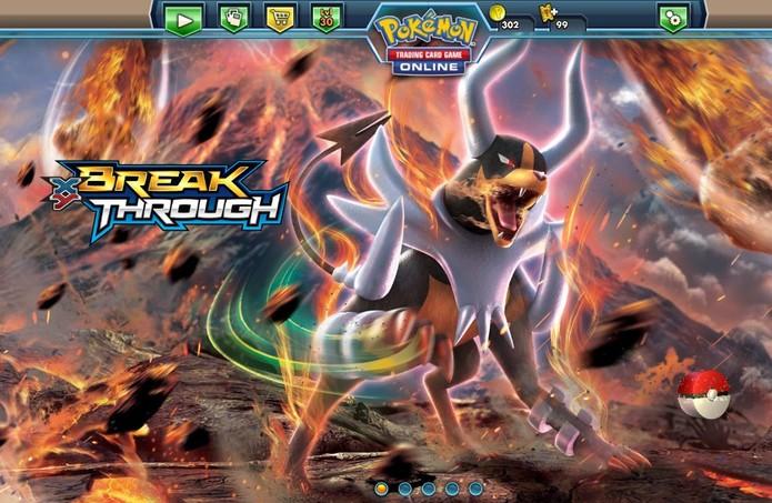 Atividades no site garantem fichas adicionais em Pokémon TCG (Foto: Divulgação/Nintendo)