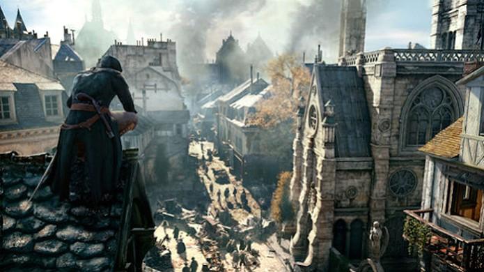 Paris de Assassin's Creed Unity será o maior mapa já concebido para a série (Foto: Kotaku) (Foto: Paris de Assassin's Creed Unity será o maior mapa já concebido para a série (Foto: Kotaku))