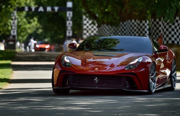 Ferrari F12 TRS, parte do programa One Off (Foto: Divulgação)