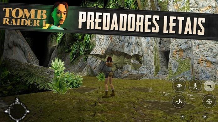O primeiro Tomb Raider chega ao Android com preço super baixo (Foto: Divulgação)