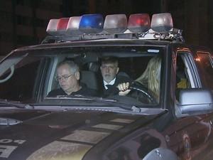 Magistrado de Juiz de Fora chega à Belo Horizonte (Foto: Reprodução / TV Globo)