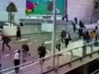 Vídeo mostra passageiros fugindo em pânico do aeroporto de Bruxelas