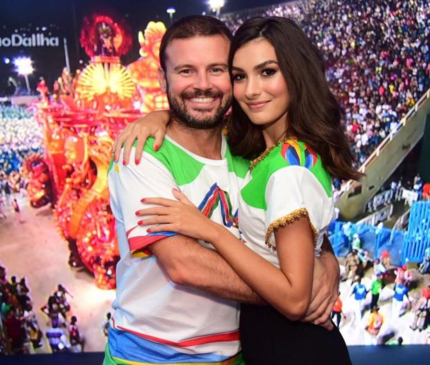 Marina Moschen e o marido, Daniel Nigri (Foto: Renato Wrobel/ Ed. Globo)