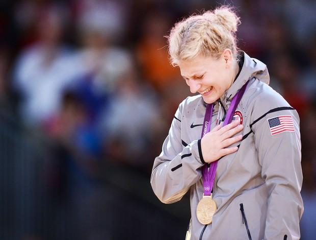 Judoca americana Kayla Harrinson (Foto: Agência AFP)
