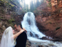 Ludmila Dayer posta foto do casamento e se declara para o marido