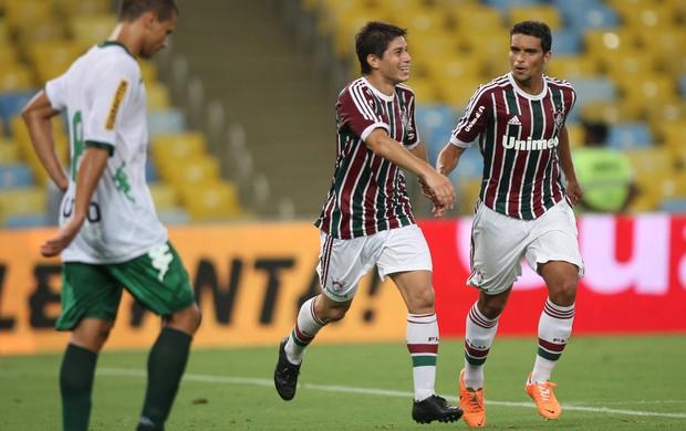 Conca e Jean, Fluminense x Boavista (Foto: Agência Photocamera)