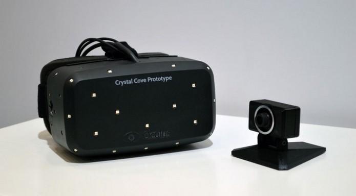 Crystal Cove, protótipo do Rift apresentado na CES 2014 (Foto: Divulgação/Oculus VR)