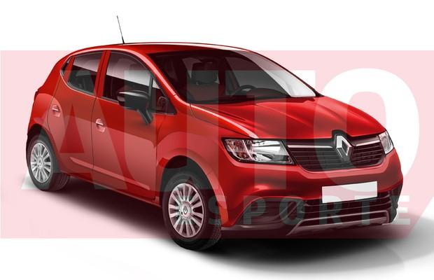 Projeção Renault Kwid (Foto: Autoesporte)