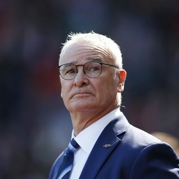 Ranieri no jogo Sunderland x Leicester (Foto: Reuters / Lee Smith)