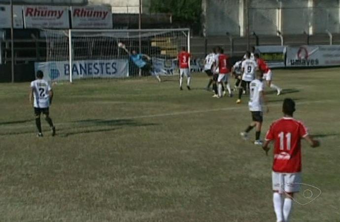 Copa Espírito Santo 2014: Castelo x Cachoeiro (Foto: Reprodução/TV Gazeta Sul)