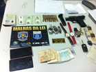 Casal é preso com R$ 11 mil, relógios, carro e identidades falsas em Caruaru