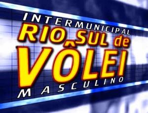 Intermunicipal Rio Sul de Vôlei Masculino começa no dia 3 de agosto. (Foto: Reprodução/TV RIO SUL)