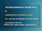 Eleitores da região sul do Paraná devem fazer cadastro biométrico