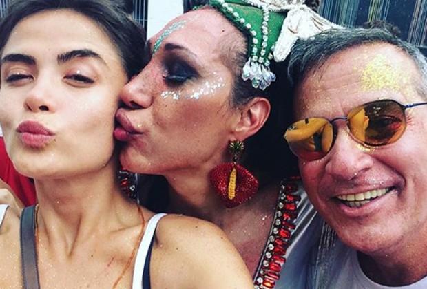 Maria Casadevall, Marcia Araujo e Ivam Cabral (Foto: Reprodução/Instagram)