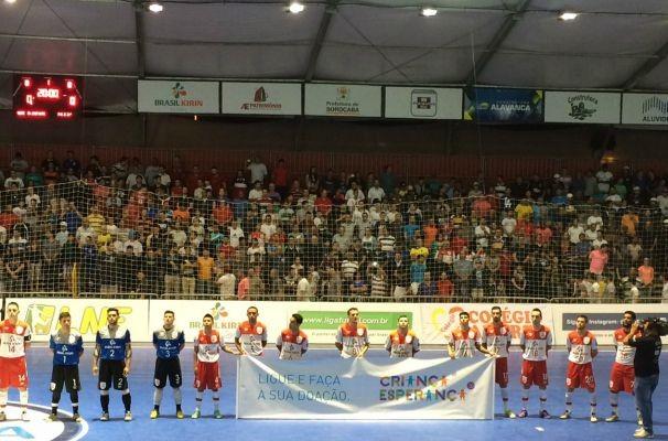 Jogo foi realizado na noite de segunda-feira, dia 03 de agosto, em Sorocaba (Foto: Reprodução/TV TEM)