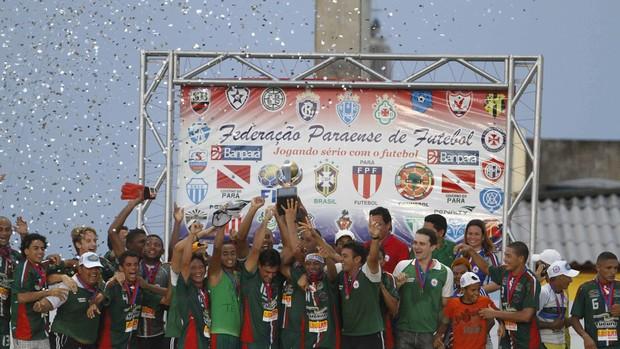Independente conquistou o Campeonato Paraense de 2011 (Foto: Tarso Sarraf/O Liberal)
