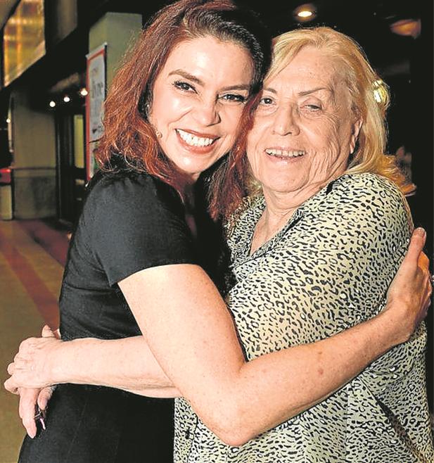 Françoise Forton e Jacqueline Laurence  (Foto: Cristina Granato)