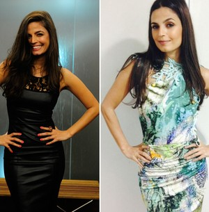 Aos 38, Emanuelle Araújo revela segredos de beleza (TV Globo/Arquivo pessoal)