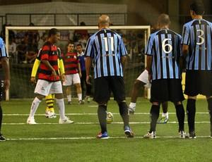 Flamengo x Grêmio Brasileiro showbol (Foto: Divulgação/Ricardo Cassiano)