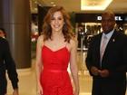 Sophia Abrahão esbanja elegância em evento de moda