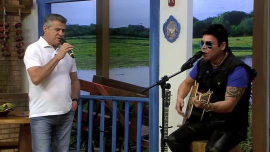 """Serginho Pinheiro & Pescuma cantam """"Saudade da Minha Terra"""""""